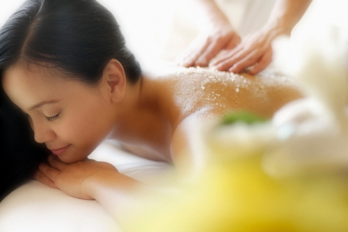 exfoliating massage